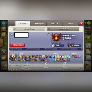 CLASH OF CLAN TH11 ACCOUNT