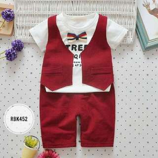 Boy Set RBK452 RED