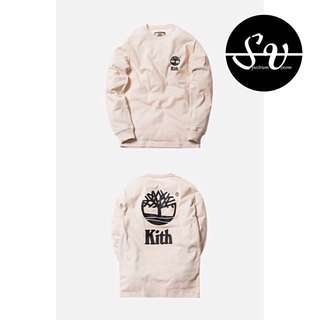 ( S ) KITH X TIMBERLAND L/S TEE - OFF-WHITE