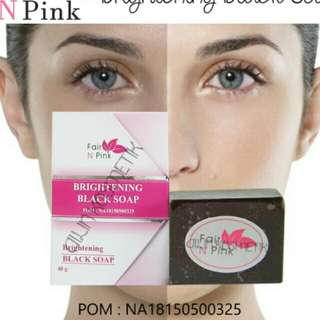 Sabun pemutih tubuh dan wajah fair n pink