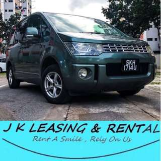 *FIRE RENTAL PROMO* MITSUBISHI DELICA UBER GRAB MPV 7 8 SEATERS SEATER RENT RENTAL PROMO CHEAP
