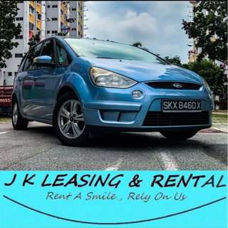*FIRE RENTAL PROMO* FORD S-MAX TREND S MAX MPV 7 8 SEATERS UBER GRAB CHEAP RENT RENTAL CAR PROMO