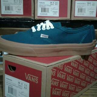 Vans Authentic Deeplight sol gum waffle DT BNIB china
