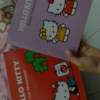 Buku Edukasi Hello Kitty