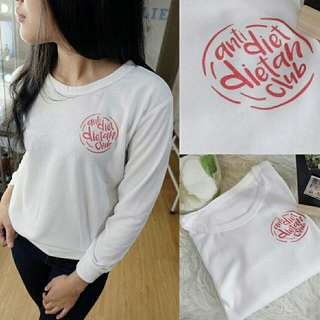Sweater Anti Diet Dietan termurah