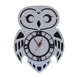 CYM Exclusive Jam Dinding Karakter Unik Model Owl HP03