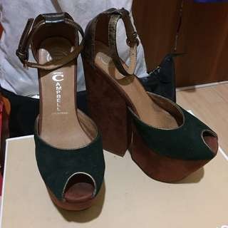 Jeffrey campbells platform heels