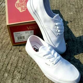 Vans Authentic full white Waffle DT BNIB china