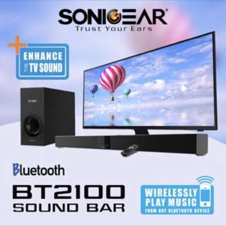 SonicGear BT2100 Wireless Soundbar