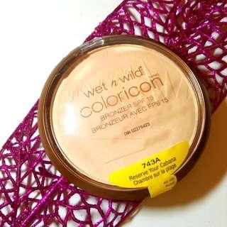 Wet n Wild Coloricon Bronzer SPF15 💯 Summer Perks