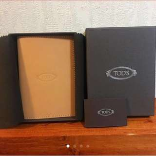 Tod's passport cover 全新未使用