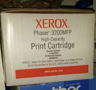 BNIB Fuji Xerox Phaser 3200 MFP High Capacity Toner Authentic