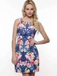 Forever New floral shift dress