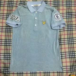 Lyle and scott scotland polo shirt perempuan