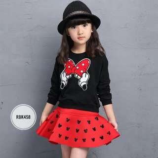 Girl Set  RBK458  BLACK