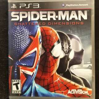 PS3 Spider-Man Scattered Dimensions