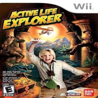 Active Life Explorer Nintendo Wii