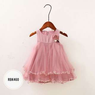 Dress  RBK460  Peach