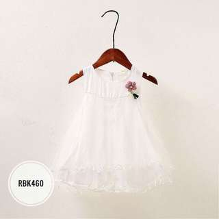 Dress  RBK460  WHITE