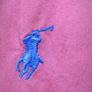 🚚 古著美品 Ralph Lauren 西瓜紅襯衫