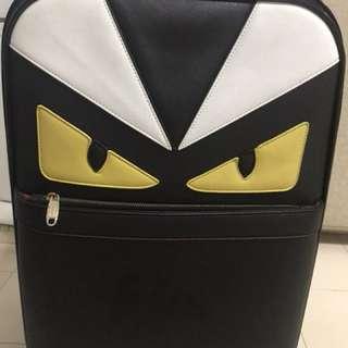 Fendi Monster luggage