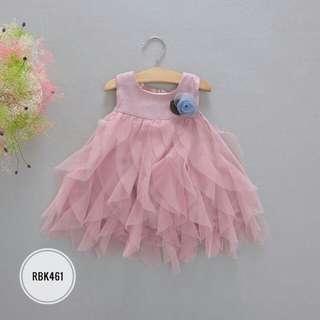 Dress  RBK461  PEACH