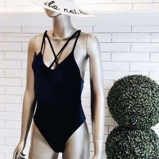 Sexy criss cross swimsuit