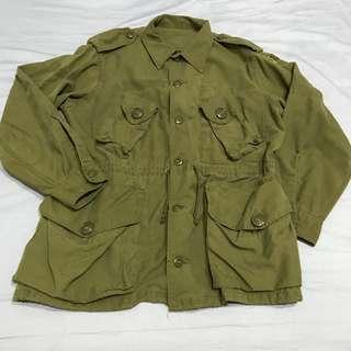 加拿大公發MK2野戰夾克 Canadian Army MK2 Field Jacket