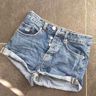 Factorie denim shorts