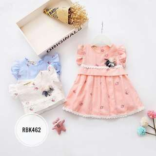 Dress  RBK462  PEACH