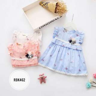 Dress  RBK463  Blue