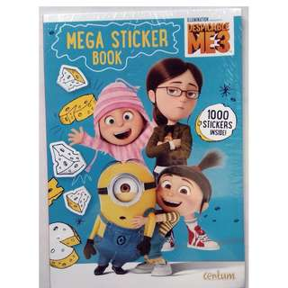 Despicable Me 3 - Mega Sticker Book