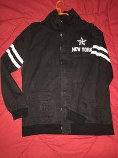 Jaket soft jeans NEW YORK