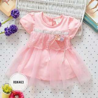 Dress  RBK463  Peach