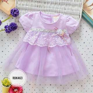 Dress  RBK463  Purple