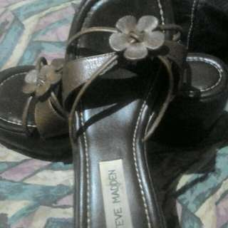 Auth,Steve Madden wedge leather