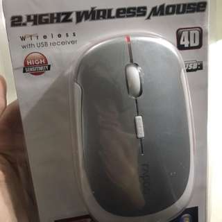 Wireless Mouse grey