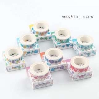Water colour Design Washi Tapes
