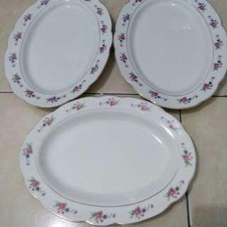 Lodor keramik vintage made in china 3 pcs