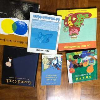 French books (3$each)