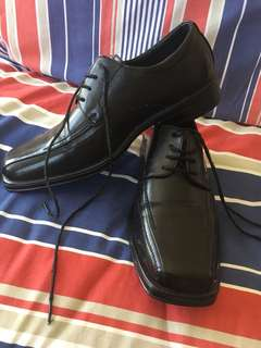 Black Men's Dress/School Shoes