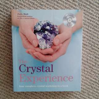 The Crystal Experience by Judy hall (Book with Meditation CD)