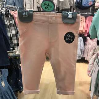 PRIMARK BABY GIRL PINKISH JEGGING