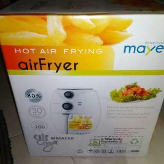 Hot Air Frying air fryer and coffe maker