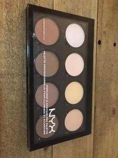 NYX Contour & Highlight Pro Palette