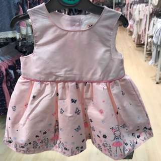 PRIMARK BABY GIRL PINK PRINCESS DRESS