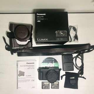 Panasonic Lumix DMC-LX100 - black 4K video
