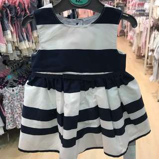 PRIMARK BABY GIRL SAILOR STRIPES