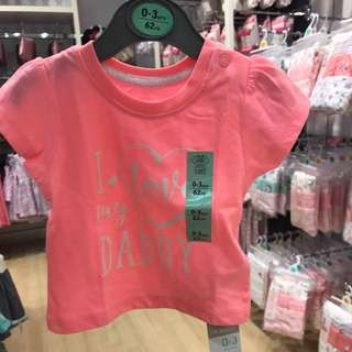 PRIMARK BABY GIRL 2 PIECES TOP