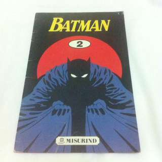 Batman No.2 - Misurind tahun 1991
